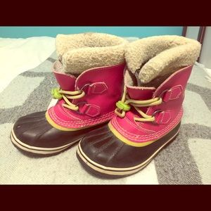 Sorel winter boots size 13